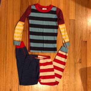 Boys and Girls Long Pajamas Striped size 5
